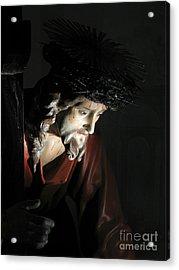 Our Saviour Acrylic Print by Richard Faenza