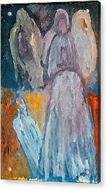 Our Sisters Weep Acrylic Print