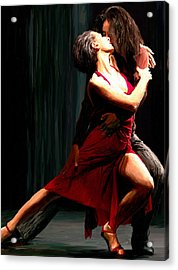 Our Tango Acrylic Print by James Shepherd