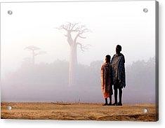 Our Way To Madagascar 2016 Acrylic Print by Gina Buliga