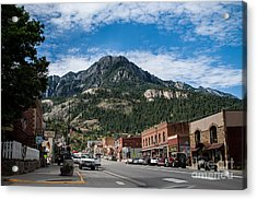 Ouray Main Street Acrylic Print by Jim McCain