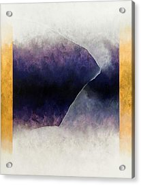 Ouroboros Three Blue, 2010 Acrylic Print by Mathew Clum