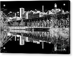 Out By Tobacco Row Acrylic Print by Tim Wilson