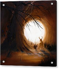 Out For The Hunt Acrylic Print by David Kacey