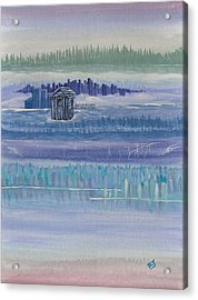 Out House In Nowhere Acrylic Print