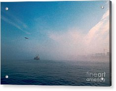 Out Morning At Sea  Acrylic Print by Evgeniy Lankin