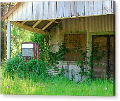 Out Of Business Acrylic Print by Connie Fox