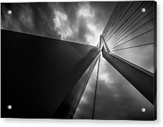Out Of Chaos A New Order Acrylic Print by Mihai Andritoiu