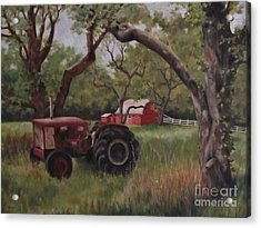 Out Of Commission Acrylic Print by Karen Olson