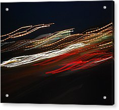 Acrylic Print featuring the photograph Out Of Control by Maggy Marsh