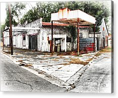 Out Of Gas Acrylic Print