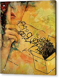 Out Of The Box Acrylic Print by Corporate Art Task Force