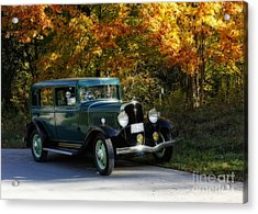 Out Of The Darkness Into The Light 1932 Frontenac Acrylic Print by Inspired Nature Photography Fine Art Photography