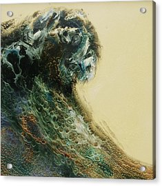 Out Of The Depths Sold Acrylic Print by Lia Melia