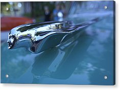 Acrylic Print featuring the photograph Out Of The Metal by Laurie Perry