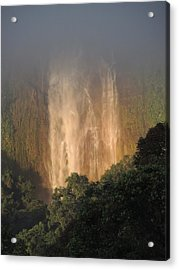 Out Of The Mist Acrylic Print by Gregory Young