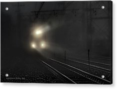 Out Of The Night #2 Acrylic Print by Aleksander Rotner