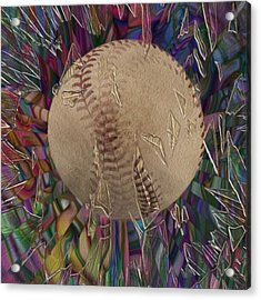 Out Of The Park Acrylic Print by Jack Zulli