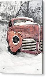 Acrylic Print featuring the photograph Out Of The Past by Edward Fielding