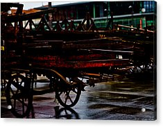 Out Of Work Acrylic Print by Michael  Bjerg