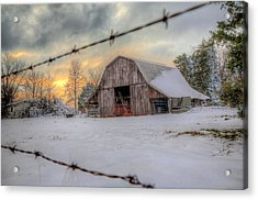 Acrylic Print featuring the photograph Out On The Farm by Micah Goff