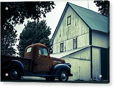 Out Past The County Line  Acrylic Print by Off The Beaten Path Photography - Andrew Alexander
