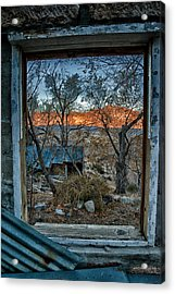 Out The Window Acrylic Print