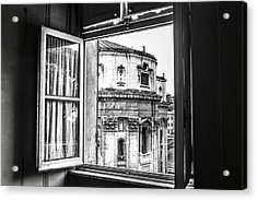 Out The Window Acrylic Print by Steven  Taylor