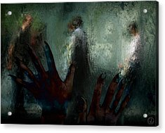 Out There In Real Life Acrylic Print by Gun Legler