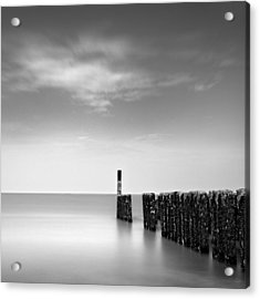 Out To Sea Acrylic Print by Dave Bowman