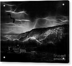 Out World Mining Acrylic Print by Arne Hansen