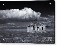 Outback Ruin Acrylic Print by Mike  Dawson