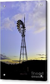 Outback Windmill Acrylic Print