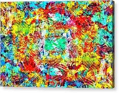 Outburst Acrylic Print by Steven Llorca