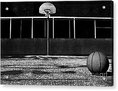 Outdoor Basketball Court Acrylic Print