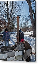 Outdoor Stove Acrylic Print by Jim West