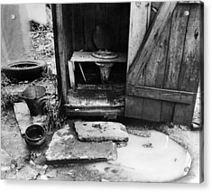 Outdoor Toilet, 1935 Acrylic Print by Granger