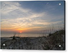 Outer Banks Sunrise Acrylic Print by Gregg Southard