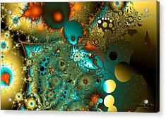 Outer Orbit Acrylic Print