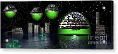 Outer Space Acrylic Print