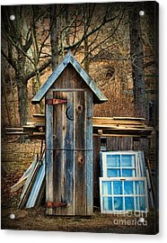 Outhouse - 5 Acrylic Print