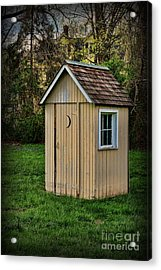 Outhouse - 8 Acrylic Print by Paul Ward