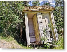 Outhouse For Two Acrylic Print