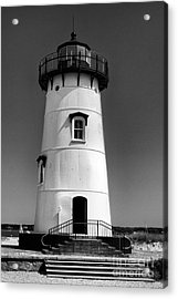 Acrylic Print featuring the photograph Outside Edgartown Lighthouse by Mark Miller