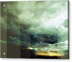 Outside Insight Acrylic Print by Florin Birjoveanu