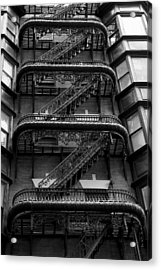 Outside Stairs Acrylic Print