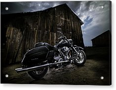 Outside The Barn Acrylic Print by Yo Pedro