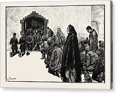 Outside The Chapel, Woodford Boycotted Police Ireland Acrylic Print