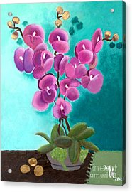 Outstanding Orchids Acrylic Print