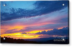 Outwest Acrylic Print by Polly Anna